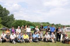2008 г. 115-я Московская межрегиональная выставка охотничьих собак. Люди. День первый