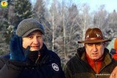 Почётный гость праздника - Андрей Украинцев и организатор  - Низами Гулиев