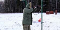Призёр состязаний по стрельбе - Конорев Владимир (Подольская секция)
